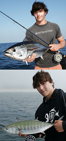 Fly Fishing Bluefin Tuna & Bonito